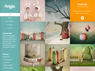 WordPress Site type - Portfolio