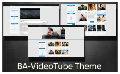 VideoTube free WordPress Video theme