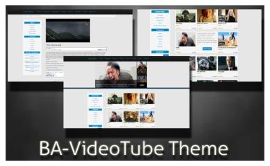 VideoTube free WordPress Video theme
